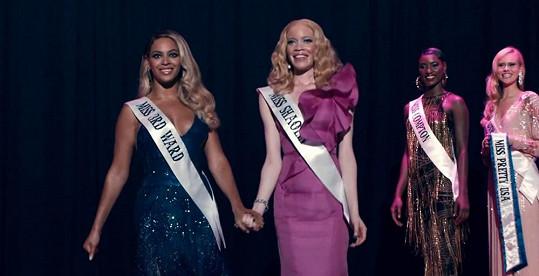 Beyoncé v klipu hrála jednu z finalistek Miss.
