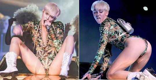 Miley na koncertech předčí i hvězdy filmů pro dospělé.