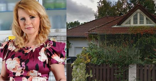 Iveta Bartošová a její dům, z něhož měla vyhodit dva Rychtáře.