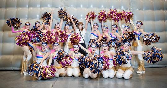 JK Dance Team Chotěboř vede Gábinina sestra.