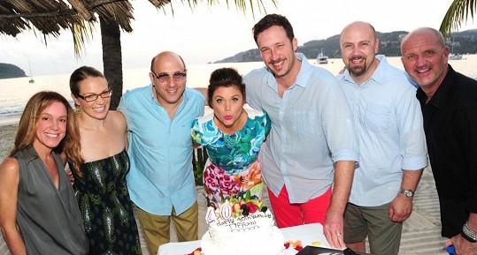 Tiffani slavila narozeniny v Mexiku se svými nejbližšími.
