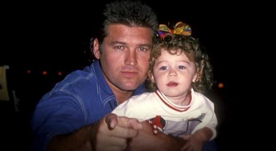 Miley se svým otcem Billym Rayem Cyrusem