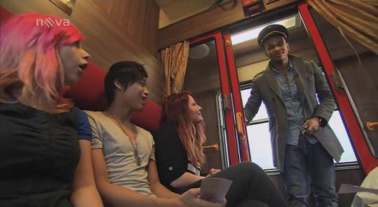 Dívky byly z Bena doslova nadšené.