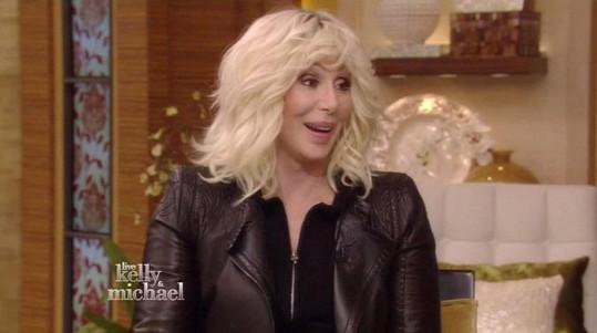 Cher v televizní show všechny okouzlila.