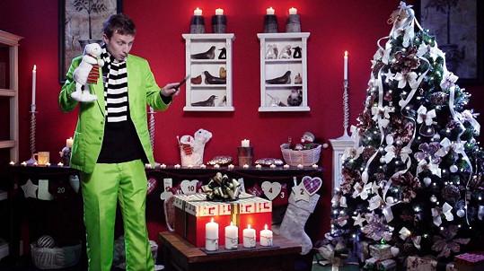 Na natáčení se podílel i svérázný iluzionista Richard Nedvěd.