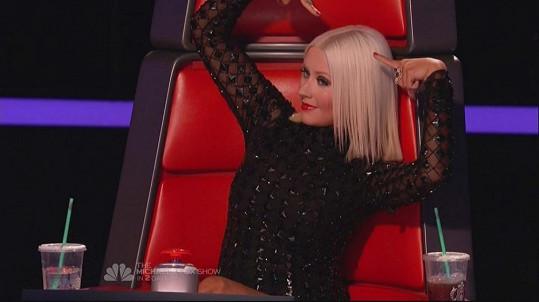 V letošní řadě si Christina užívá opět útlých křivek.