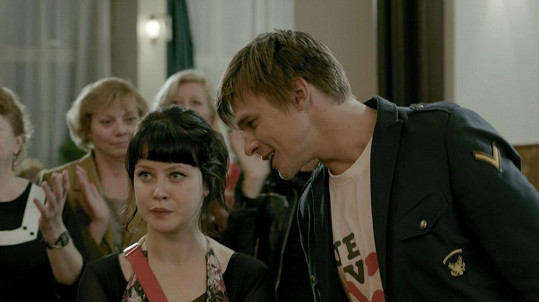 Jonovéfa si zahrála s idolem dívčích srdcí Vojtou Dykem.