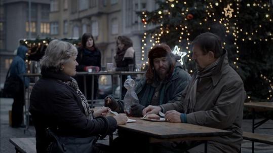 Bezdomovce si zahrál i Marek Taclík.