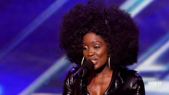 Američanka žijící na Slovensku Lillie McCloud válí v X Factoru.