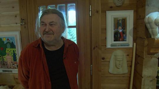 František Ringo Čech zhubnul šestnáct kilo.