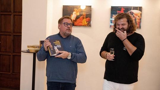 Křtil knihu Josefa Maršálka.