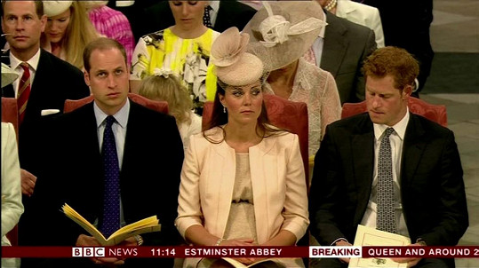 Princ William, Kate a princ Harry