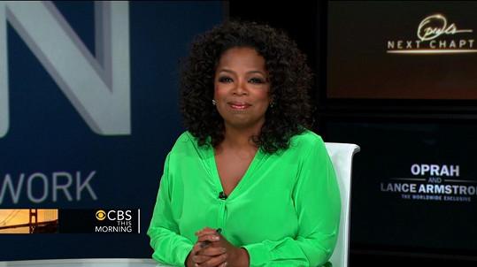 Oprah Winfrey stále boduje.