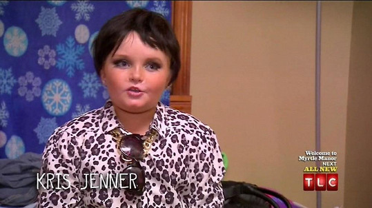 Alana 'Honey Boo Boo' se přestrojila za Kris Jenner.