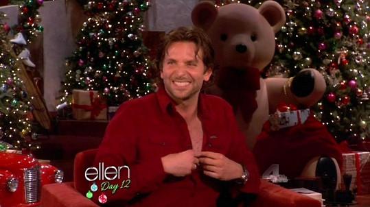 Bradley se v televizním pořadu začal nečekaně odhalovat.