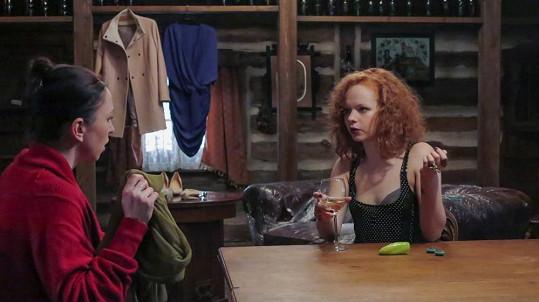 V komedii Chvilková slabost si zahrála se Zuzanou Stivínovou.