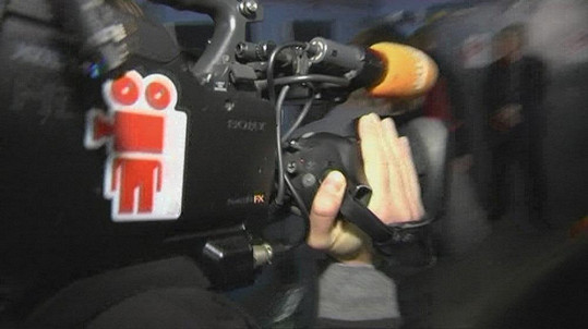 Kamera, na níž prý zneužili logo Primy.