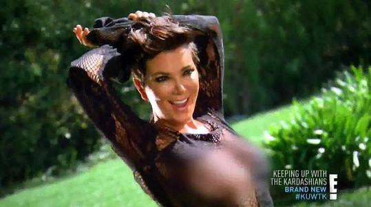 Kris Jenner se splnil sen, nafotila odvážné fotky.