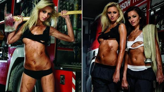 Nejkrásnější hasičky.