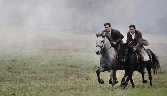 Ján si zkusil i jízdu na koni.