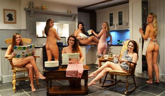 Domácí práce v provedení sexy hospodyněk.