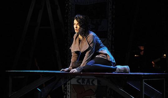 V muzikálu Rent hraje Markéta tanečnici, která má AIDS a bere drogy...
