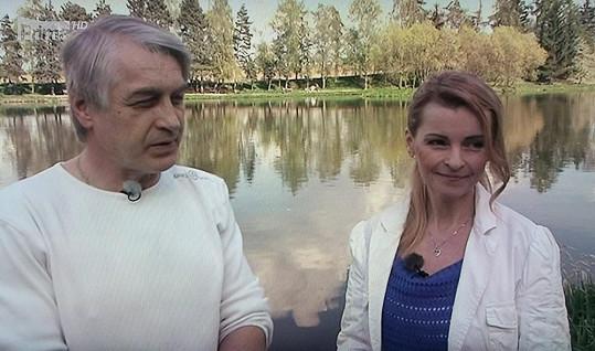 Iveta Bartošová s manželem Josefem Rychtářem