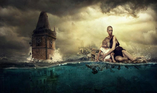 Staromák při potopě