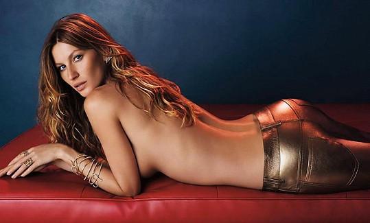 Gisele Bündchen je nejslavnější brazilskou modelkou.