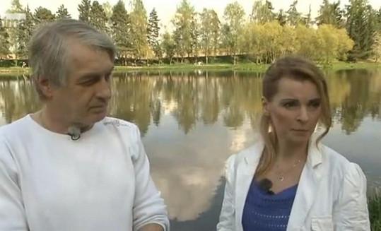 Iveta Bartošová s manželem Josefem Rychtářem.