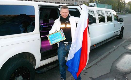 Zpěvák je na ruských festivalech již mazákem.