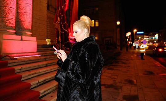 Ornella Štiková odchází z Opery.