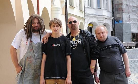 Pavel Sankot v Kameňáku 4 (vpravo)
