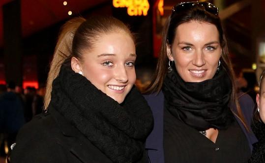 Lucie Králová s dcerou svého přítele Jessicou