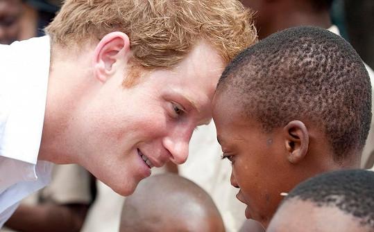 Bratr prince Williama má Afriku v lásce.