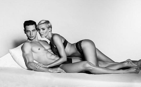 Nedávno nafotil snímky i s Hanou Mašlíkovou.