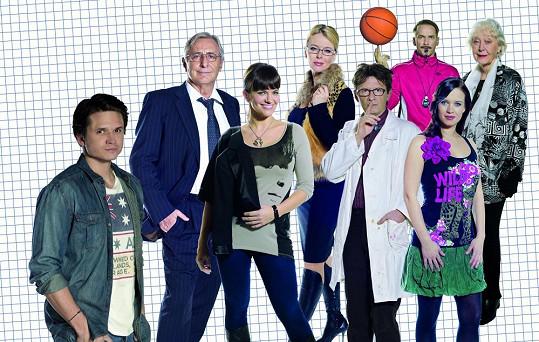 Druhá řada seriálu Gympl s (r)učením omezeným přinese spoustu nových postav.