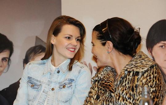 Zuzana Stavná s kolegyní Janou Krausovou