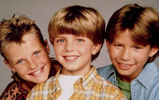 Zachery (vlevo) a Jonathan (vpravo) na propagačním snímku seriálu Kutil Tim