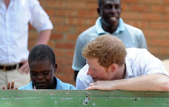 Vypadávání vlasů má princ Harry v genech.