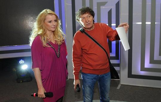 S režisérem Krampovolovin Rezkem.