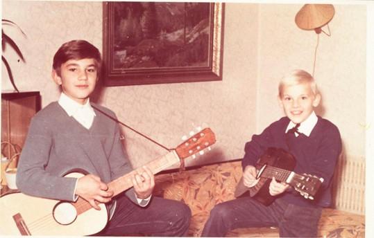 Martin Maxa s kytarou válel už jako dítě.