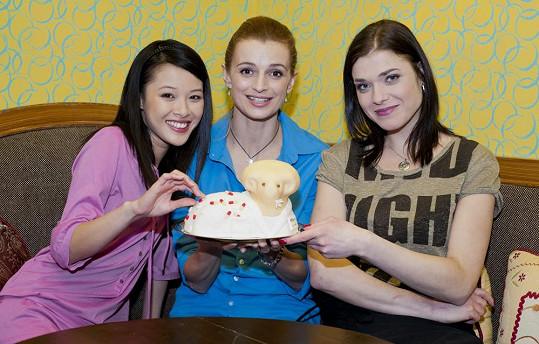 Irena Máchová (vpravo) přivedla na svět chlapečka.