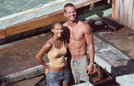 Paul Walker a Jessica Alba