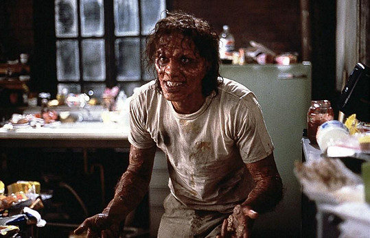 Jeff Goldblum ve filmu Moucha (1986)