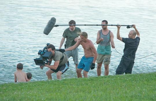 Poslední natáčecí minuty filmu Krásno byly pěkně dramatické.