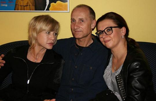 Dorazili také Jana Švandová, Josef Carda a Dana Morávková. Všichni hrají v některé z her, jež uvádí Divadlo Bez zábradlí.