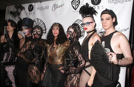 Cher je u gay komunity velice oblíbená.