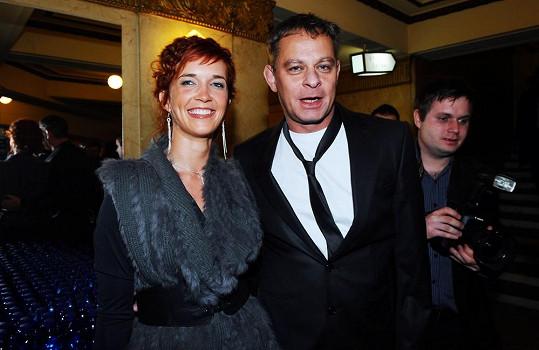 Filip Renč s bývalou přítelkyní