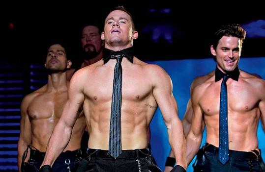 Channing Tatum ve filmu Bez kalhot (2012).